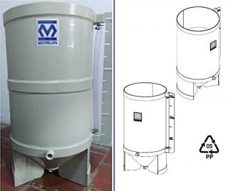 Polypropylene Decanter Tanks