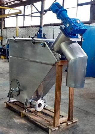 Solid Separator Filter In Stainless Steel Made